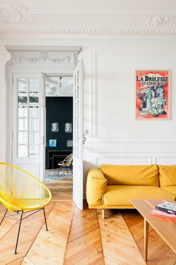 french style, arredare casa in stile francese