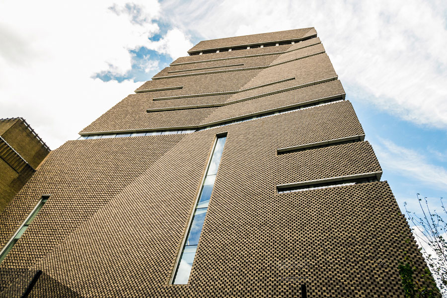 TATE MODERN SWITCH HOUSE I HERZOG&DE MEURON