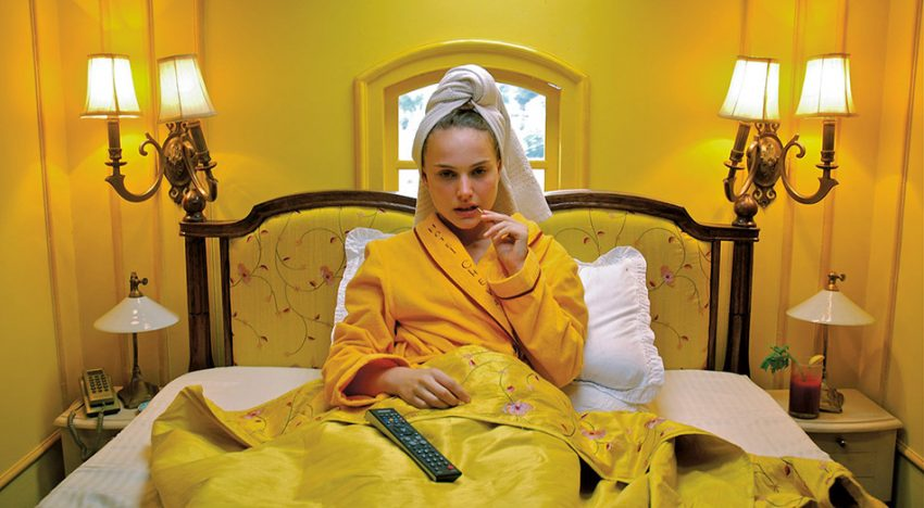COLOUR: WES ANDERSON INTERIORS
