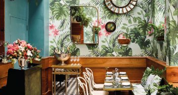 MIDCENTURY TROPICAL GLAMOUR: LEO'S OYSTER BAR