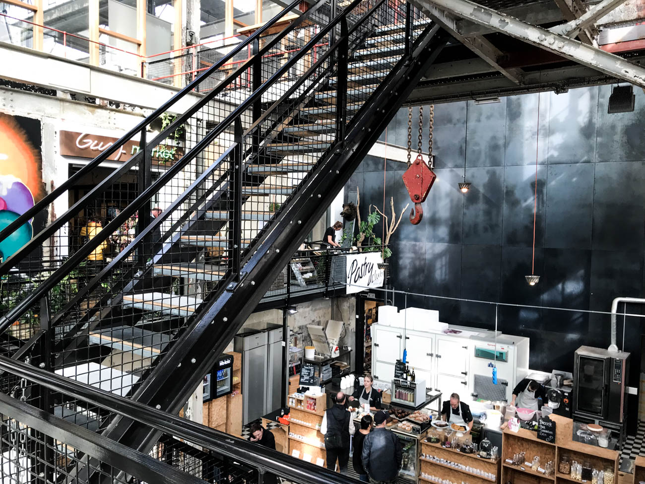 industrial shop, industrial style