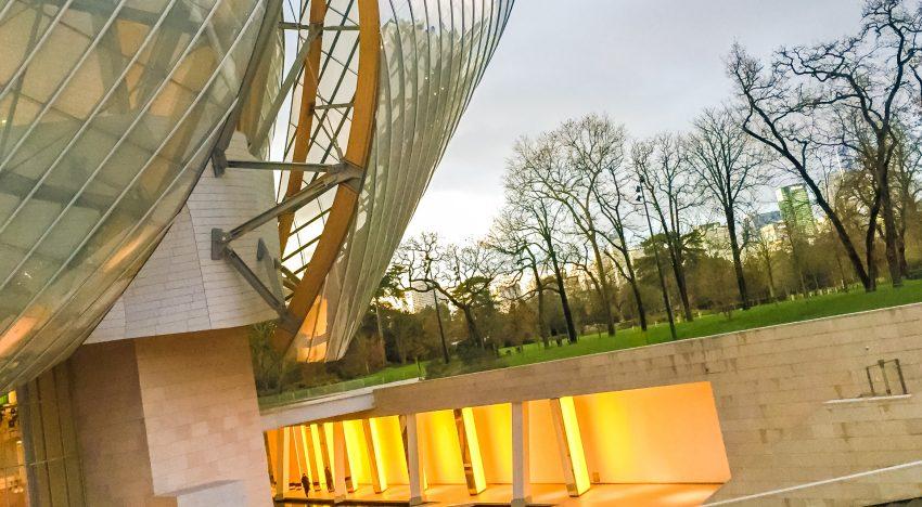 FRANK GEHRY: FONDAZIONE LOUIS VUITTON, PARIS