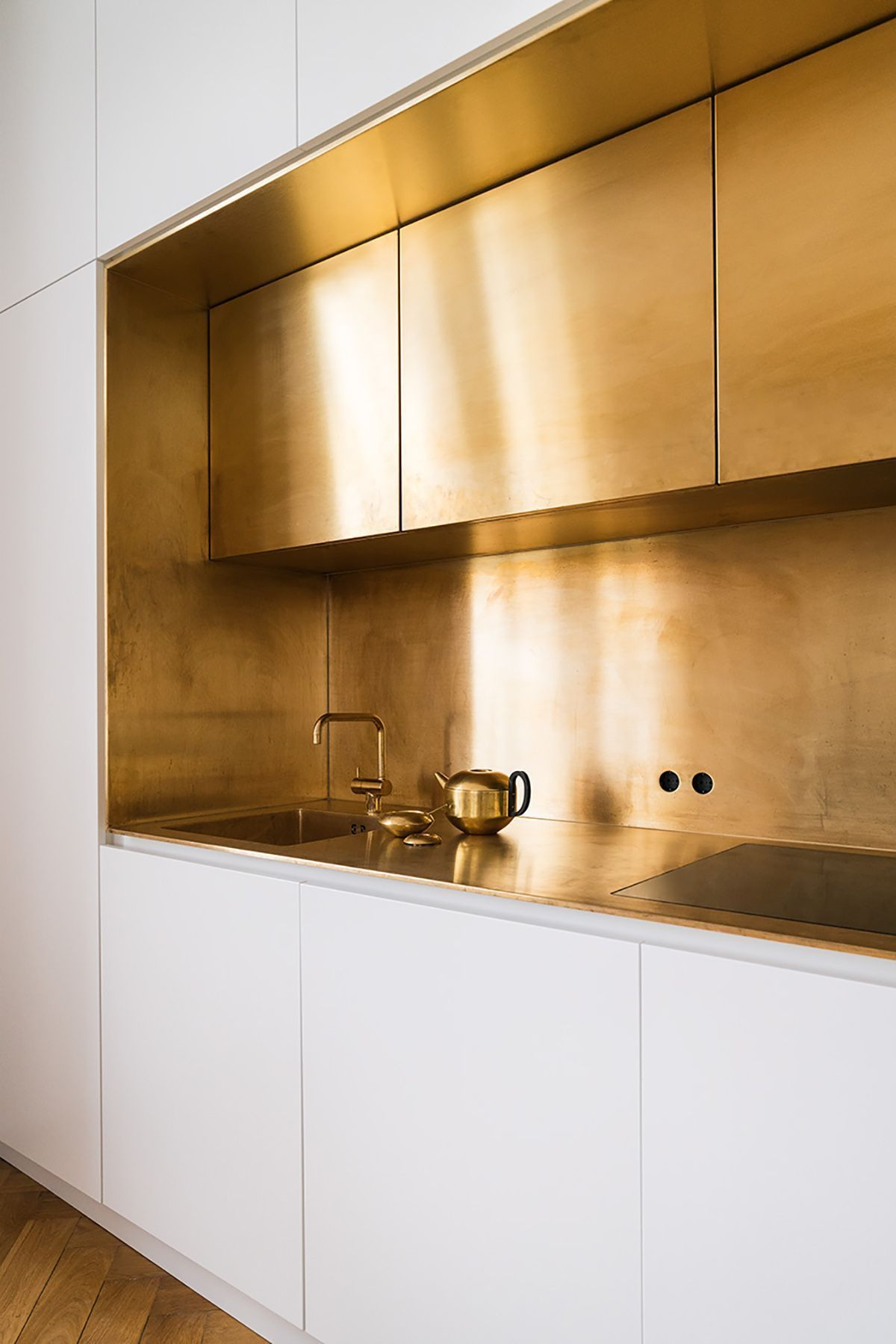 gold colour interior home
